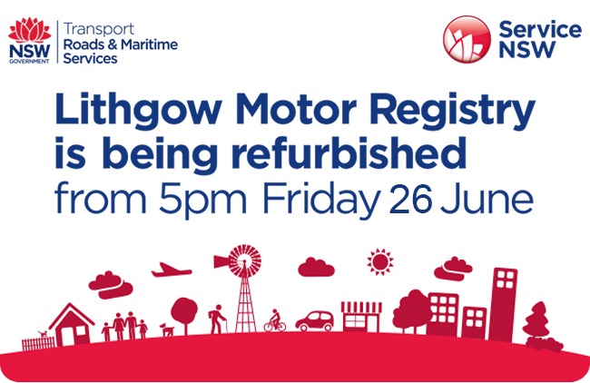 Lithgow Motor Registry is being refurbished
